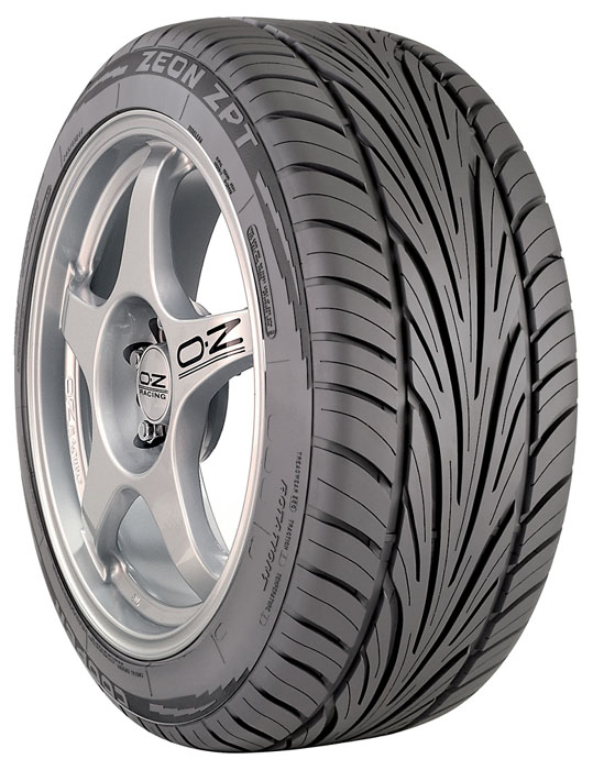 cooper zeon zpt 245 45 r17 95h tire specifications review. Black Bedroom Furniture Sets. Home Design Ideas
