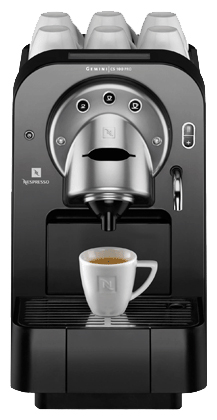 nespresso gemini cs100 pro coffee machine specs reviews and prices. Black Bedroom Furniture Sets. Home Design Ideas