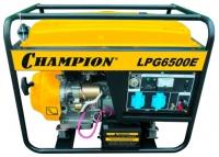 Champion LPG6500E reviews, Champion LPG6500E price, Champion LPG6500E specs, Champion LPG6500E specifications, Champion LPG6500E buy, Champion LPG6500E features, Champion LPG6500E Electric generator