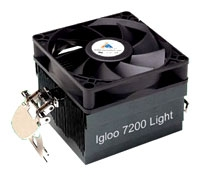 GlacialTech cooler, GlacialTech Igloo 7200 Light cooler, GlacialTech cooling, GlacialTech Igloo 7200 Light cooling, GlacialTech Igloo 7200 Light,  GlacialTech Igloo 7200 Light specifications, GlacialTech Igloo 7200 Light specification, specifications GlacialTech Igloo 7200 Light, GlacialTech Igloo 7200 Light fan