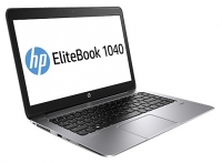 laptop HP, notebook HP EliteBook Folio 1040 G1 (H5F63EA) (Core i5 4200U 1600 Mhz/14.0