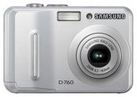 Samsung D760 digital camera, Samsung D760 camera, Samsung D760 photo camera, Samsung D760 specs, Samsung D760 reviews, Samsung D760 specifications, Samsung D760