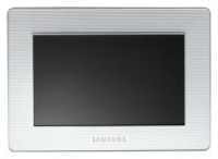 Samsung SPF-72V digital photo frame, Samsung SPF-72V digital picture frame, Samsung SPF-72V photo frame, Samsung SPF-72V picture frame, Samsung SPF-72V specs, Samsung SPF-72V reviews, Samsung SPF-72V specifications, Samsung SPF-72V