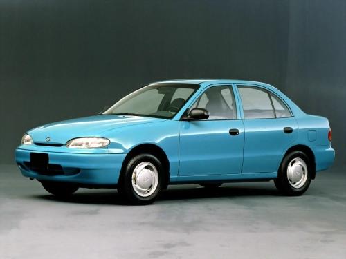Hyundai Excel Hatchback 5-door  (X3) 1 5 MT (90 HP) car